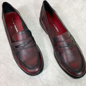 Dirty Laundry Odell Red/Black Vegan Loafers